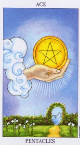The Ace of Coins/Pentacles