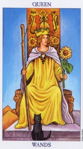 The Queen of Wands - Leo
