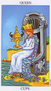 The Queen of Cups - Scorpio