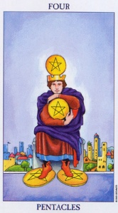 The Two of Pentacles/Coins