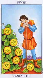 Seven of Pentacles/Coins