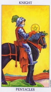 Knight of Pentacles/Coins
